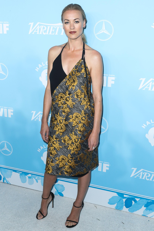 Yvonne strahovski variety and women in film emmy nominee celebration in la new pics